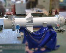 製作実績 多管式熱交換器(第二種圧力容器)