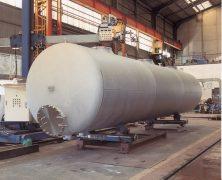 製作実績 横型貯槽・大型タンク