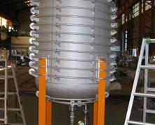 製作実績 パイプジャケット貯槽(大型タンク)