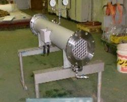 製作実績 多管式熱交換器