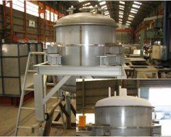 製作実績 計量槽缶体(大型タンク)
