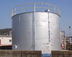 製作実績 濃硫酸タンク/コーンルーフタンク