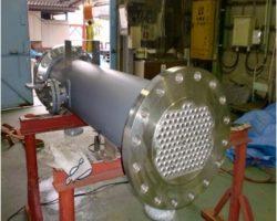 製作事例 多管式熱交換器