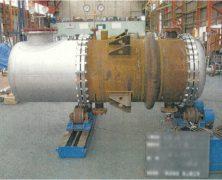 製作実績 多管式熱交換器(第一種圧力容器)