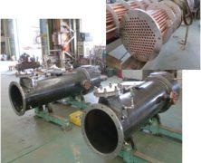 製作実績 遊動頭熱交換器・第二種圧力容器