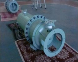 製作実績 空気脱湿器下部シェル(熱交換器・第二種圧力容器)
