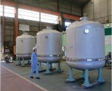 製作事例 フィルタータンク(大型タンク)