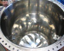 製作実績 医薬品製造装置タンク(電解研磨)