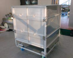 製缶実績:栽培用コンテナ SUS